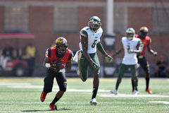 2015 NCAA Voetbal - USF @ Maryland Stock Foto