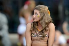 2014 NCAA Voetbal - WVU-Oklahoma Stock Afbeeldingen