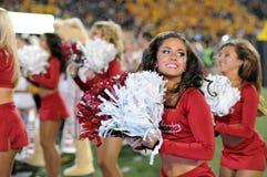 2014 NCAA Voetbal - WVU-Oklahoma Royalty-vrije Stock Fotografie