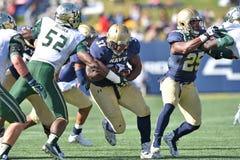 2015 NCAA Voetbal - Zuid-Florida bij Marine Royalty-vrije Stock Foto's