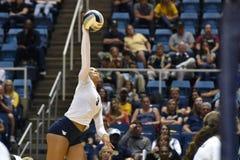 2015 NCAA Volleyball - van West- Texas @ Virginia Stock Fotografie