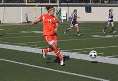 NCAA Woman's Soccer Stock Photography