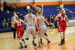 NCAA Women�s Basketball Royalty Free Stock Photos