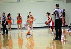 NCAA Women's Basketball Royalty Free Stock Image