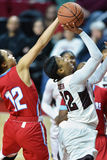 2015 NCAA Women's Basketball - Temple vs Delaware State Stock Image