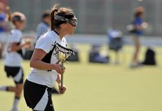NCAA Women's Lacrosse (LAX) Royalty Free Stock Photography