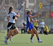 NCAA Women's Lacrosse (LAX) Royalty Free Stock Photos