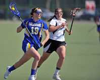 NCAA Women's Lacrosse (LAX) Royalty Free Stock Images