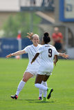 2015 NCAA Women's Soccer - Villanova @ WVU Royalty Free Stock Photography
