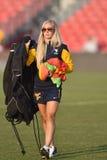 2015 NCAA Women's Soccer - WVU-Maryland Royalty Free Stock Photo