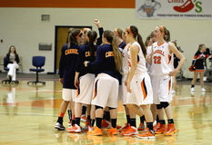 NCAA Women's Basketball Stock Photo