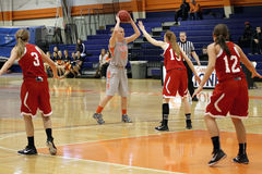 NCAA Women's Basketball Royalty Free Stock Photo