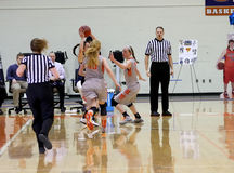 NCAA Women's Basketball Royalty Free Stock Photos
