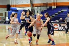 NCAA Women's Basketball Royalty Free Stock Photos