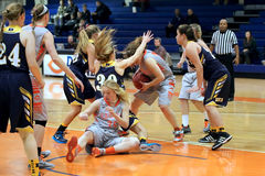 NCAA Women's Basketball Royalty Free Stock Images
