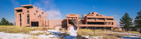 NCAR panorama, rear elevation Royalty Free Stock Images