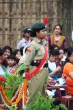NCC Independence Day celebration royalty free stock photography