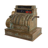 Аncient cash register Stock Image