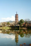 Ncient Province. China's Jiangxi Province, the ancient Royalty Free Stock Photo