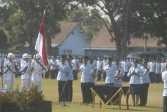 NCO INAUGURATION INDONESIAN AIR FORCE Royalty Free Stock Photography