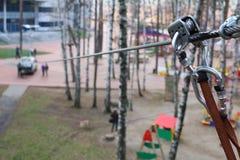 A âncora e a segurança rope a peça do equipamento de escalada Imagem de Stock Royalty Free