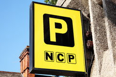 NCP sign Royalty Free Stock Images