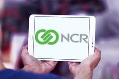 NCR Korporation logo royaltyfri bild