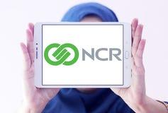 NCR Korporation logo royaltyfri fotografi