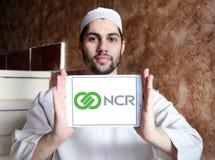 NCR Korporation logo arkivbilder