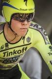 102nd环法自行车赛-时间试验-第一阶段 免版税库存照片