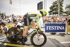 102nd环法自行车赛-时间试验-第一阶段 图库摄影