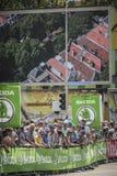 102nd γύρος de Γαλλία - χρονική δοκιμή - πρώτη φάση Στοκ εικόνες με δικαίωμα ελεύθερης χρήσης