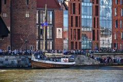 22nd вариант прибалтийского ветрила в заливе Гданьска, Польше Стоковое Фото