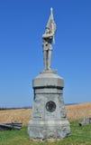 132nd памятник пехоты Pennsylvanis - поле брани Antietam национальное, Мэриленд Стоковая Фотография