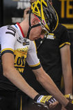 102nd Тур-де-Франс - проба времени - первая стадия Стоковые Изображения RF