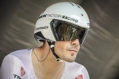 102nd Тур-де-Франс - проба времени - первая стадия Стоковые Изображения