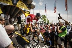 102nd Тур-де-Франс - проба времени - первая стадия Стоковая Фотография RF