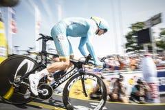 102nd Тур-де-Франс - проба времени - первая стадия Стоковое Изображение RF