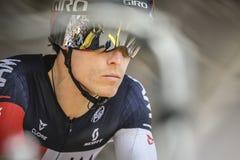 102nd Тур-де-Франс - проба времени - первая стадия Стоковые Фотографии RF