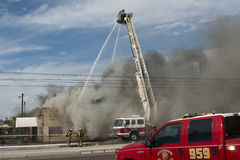 2nd Alarm Fire III Stock Image