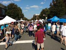 Street Fair, Rutherford, NJ, USA Stock Photography