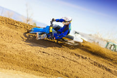 Sandbox Racer Turning Stock Photography