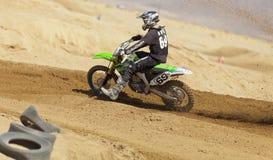 Kawasaki Racer Stock Photography