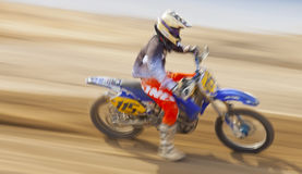 Dirt Bike Racer Sandbox GP Stock Photography
