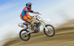 Dirt Bike Speed Stock Image