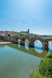 22nd of August 1944 Bridge in Albi, France Royalty Free Stock Photography