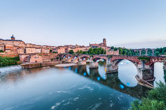 22nd of August 1944 Bridge in Albi, France Royalty Free Stock Photo