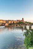 22nd of August 1944 Bridge in Albi, France Stock Photo