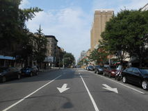2nd Avenue and 12th Street, New York. Royalty Free Stock Photo