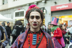 2nd centro storico `s carnival in naples 2017 Stock Photography